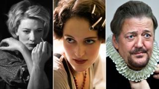 Cate Blanchett, Phoebe Waller-Bridge, Stephen Fry