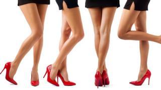 Корткие юбки и высокие каблуки