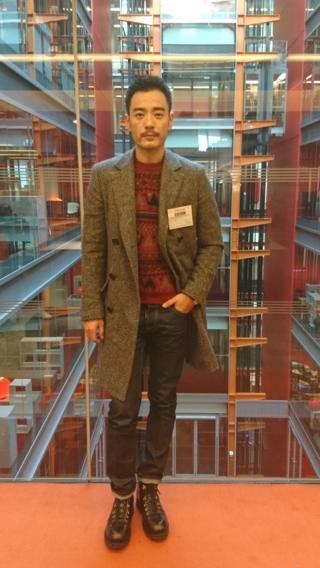 李光洁做客伦敦BBC总部大楼(摄影:子川)