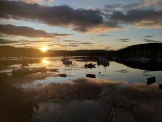 Sun rise at Tayvallich
