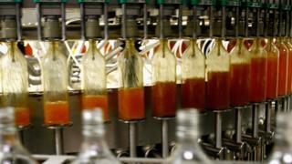 whisky bottling plant in Scotland