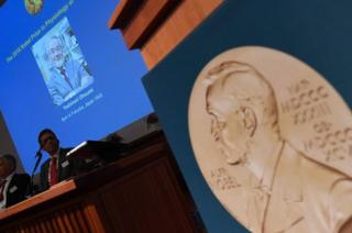 Объявление нобелевского лауреата по медицине