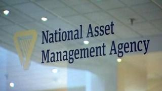 A sign that reads: National Asset Management Agency