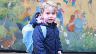 George at nursery