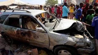 Shambulio la mabomu yaliyotegwa ndani ya gari na kuua zaidi ya watu 30 Somalia