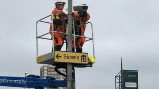 Leeds City Council Clean Air Zone Camera