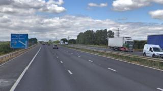 M4 near Swindon