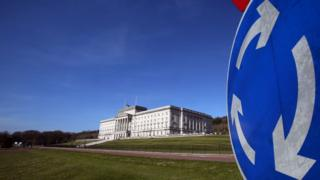 Parliament Buildings, the seat of the Northern Ireland Assembly
