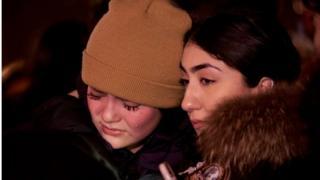 Tưởng niệm các nạn nhân trên chuyến bay PS752, tại quảng trường Mel Lastman ở Toronto, Ontario, Canada.