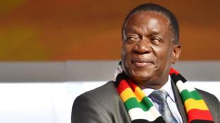 Umukuru w'igihugu ca Zimbabwe, Emmerson Mnangagwa