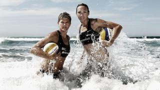 Австралийские спортсменки