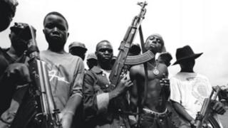 Liberian child soldiers
