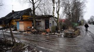 Деревня в Ленинградской области
