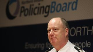Police Service of Northern Ireland Chief Constable George Hamilton