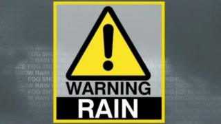 Met Office yellow warning for heavy rain