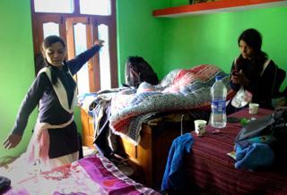 Dancing in the bedroom