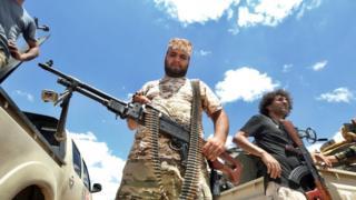 قوات حكومة الوفاق الليبية