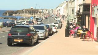 The fight happened outside a bar in Portstewart