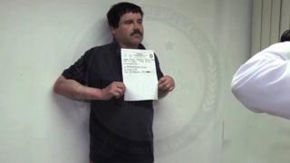 Meksikalı uyuşturu baronu Joaquin Guzman