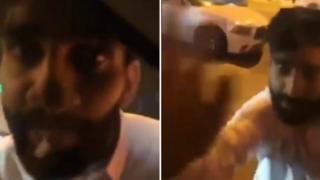 صورة الشخص الذي ظهر في فيديو حادثة القصيبي