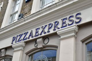 Pizza Express Covent Garden, Lodnon