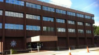 Suffolk Police HQ in Martlesham