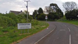 A sign of Cosheston