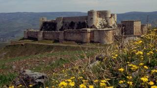 Humus yakınlarındaki Krak des Chevaliers