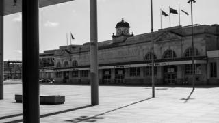 Cardiff train station