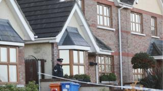 Gardaí have cordoned off a house on the Clonmore estate in Ardee, where the woman's body was found