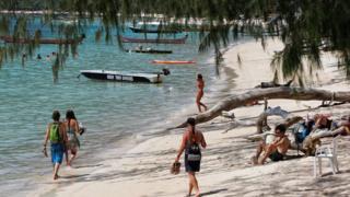 пляж на острове Ко Тао