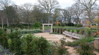 New garden of tranquillity at the refurbished crematorium