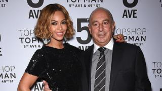 Beyonce and Philip Green