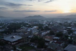 San Pedro Sula, Honduras. (Foto: John Moore / Getty Images)