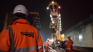 Upgrade work on Great Western Main Line