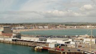 Weymouth ferry terminal