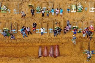 healthy fod for babies A burial takes place at the Nossa Senhora Aparecida cemetery in Manaus, in the Amazon forest in Brazil.
