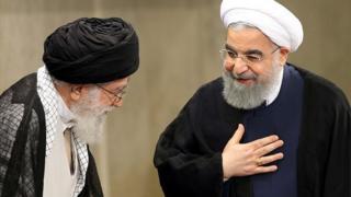 روحانی - خامنهای