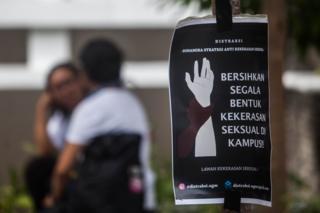 aksi anti kekerasan seksual di UGM