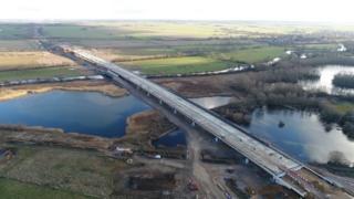 New A14 bridge
