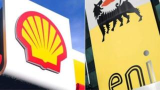logo of shell and Eni