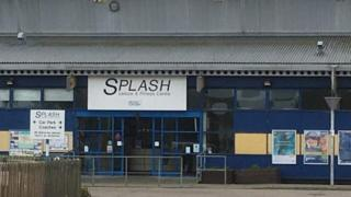 Splash in Sheringham