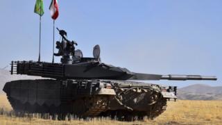"""Иранский танк """"Каррар"""""""