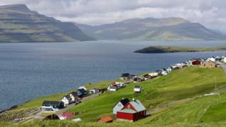 A Faroe Islands village