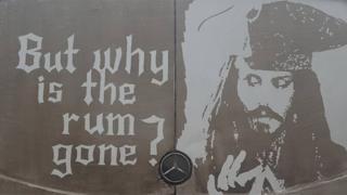 Ruddy Muddy's drawing of Jack Sparrow
