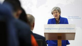 Theresa May makes speech on Brexit on 21 May 2019