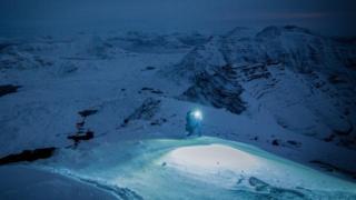 Night time ascent on Beinn Alligin