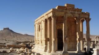 Palmyra ruin
