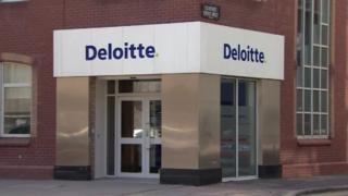 One of Deloitte's Belfast offices