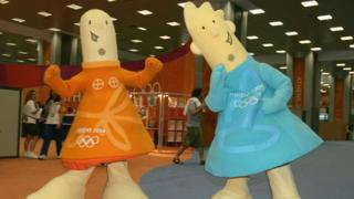 Mascots of the 2004 Olympic Games